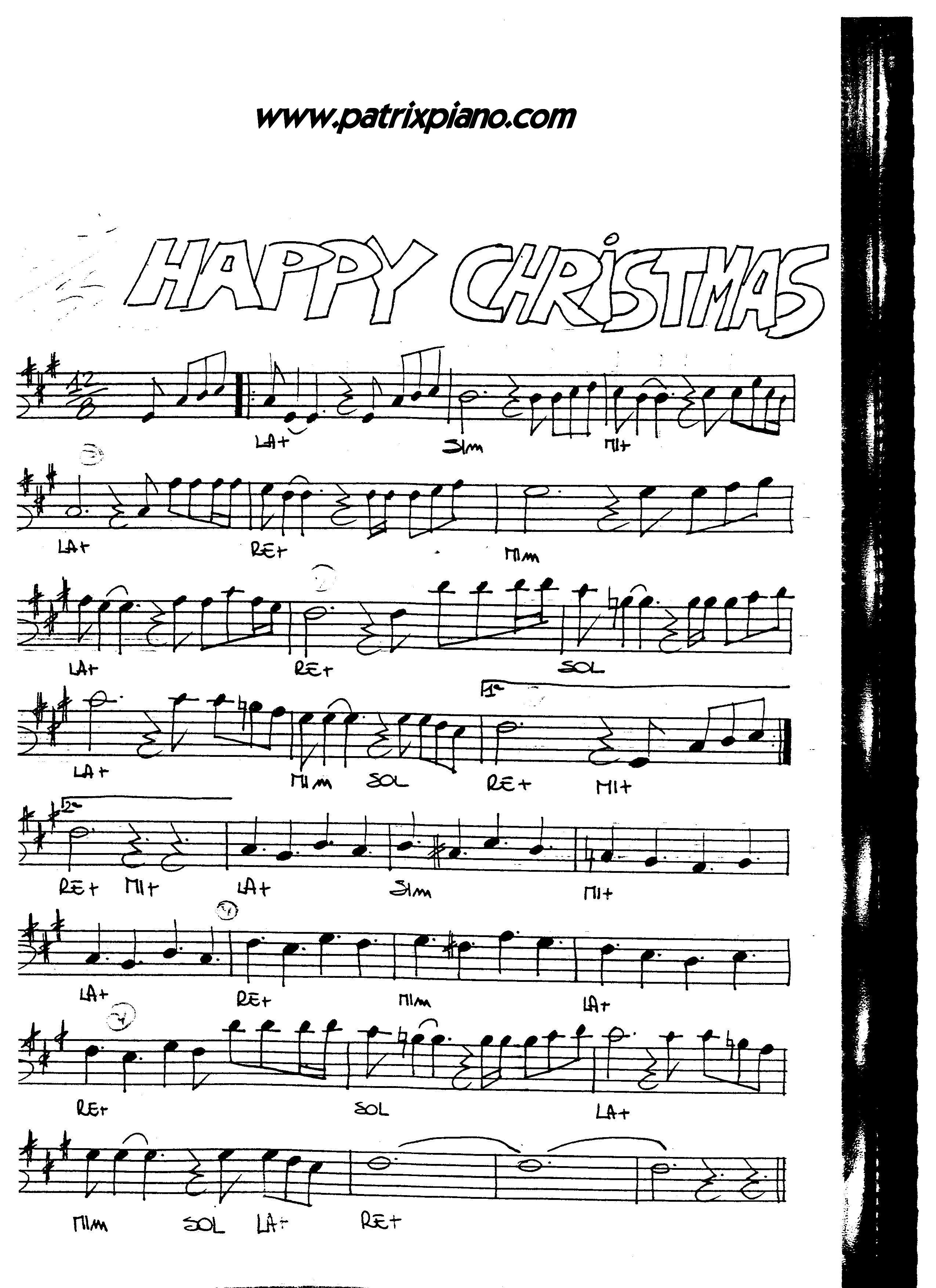 natale melodia canzone